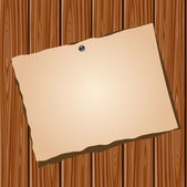 Kniha o dřevěnou zeď — Stock vektor