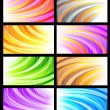Set of abstract backgrounds — Stock Vector #16359483