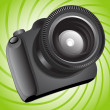 Photo camera — Imagen vectorial