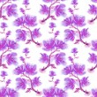 watercolor floral pattern — Stock Photo