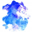 Abstract watercolor hand painted background — Stockfoto