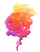 Abstract watercolor hand painted background — Stock Photo