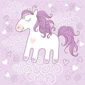 Cute horse — Stock Vector