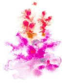 Abstract aquarell von hand bemalt hintergrund — Stockvektor