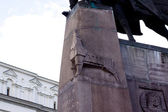 Wolf statue — Stock Photo