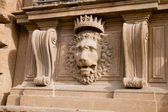 Stone lion — 图库照片