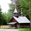 Wooden church — Stock Photo