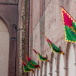 Several palio banners - Stock Photo