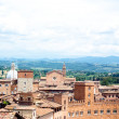Siena view - Stock Photo