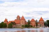 Trakaj castle — Stock Photo
