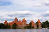 Trakaj castle — Fotografia Stock