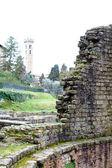 Eski Roma kalıntıları — Stok fotoğraf