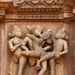 Постер, плакат: Erotic sculptures Khajuraho India