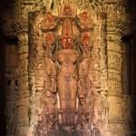 Lakshmi Hindu Goddess Image statue — Stock Photo
