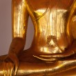 sitting buddha statue  details, thailand — Stock Photo
