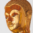 Stock Photo: Buddha statue head close up, Thailand
