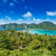 Green tropical island - Stock Photo