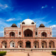 Stock Photo: Humayun Tomb, India