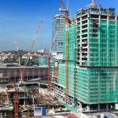Baustellen-gebäude — Stockfoto