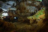 Underground caves — Stock Photo