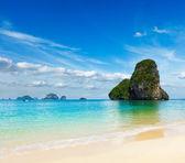 Pranang beach. Krabi, Thailand — Stock Photo