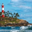Kovalam (Vizhinjam) lighthouse. Kerala, India — Stock Photo #13631642