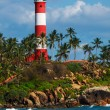 Kovalam (Vizhinjam) lighthouse. Kerala, India — Stock Photo #13631646