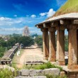Ruins in Hampi - Stock Photo