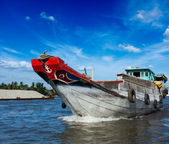 Boat. Mekong river delta, Vietnam — Stock Photo
