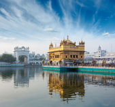 золотой храм, амритсар — Стоковое фото