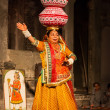 Bhavai dance of Rajasthan, India - Foto Stock
