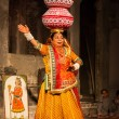 Bhavai dance of Rajasthan, India - Stok fotoğraf