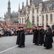 Stock Photo: Procession of Holy Blood on Ascension Day in Bruges (Brugge)