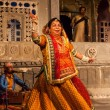 Stock Photo: Bhavai dance of Rajasthan, India