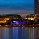 Esplanade Theatre in Singapore — Stock Photo
