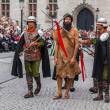Procession of the Holy Blood on Ascension Day in Bruges (Brugge) - Stock Photo