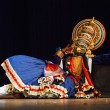 Kathakali dance. Bhava Bhavanam Festival. September 2009. Chenna - Stock Photo