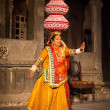 Bhavai dance of Rajasthan, India - Stock Photo