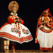 Stock Photo: Kathakali dance. BhavBhavanam Festival. September 2009. Chenna