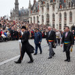 Procession of Holy Blood on Ascension Day in Bruges (Brugge) — Stock Photo #25472789