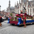 Procession of the Holy Blood on Ascension Day in Bruges (Brugge) - ストック写真