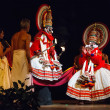 Kathakali is a famous dance-drama of south indian state of Keral — Foto de Stock