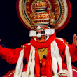 Kathakali dance. Bhava Bhavanam Festival. September 2009. Chenna — Stock Photo
