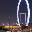 SINGAPORE - MAY 7:  Singapore Flyer on May 7, 2011 in Singapore in the evening. — Stock Photo