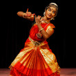 Bharatanatyam -  classical Indian dance — Stock Photo