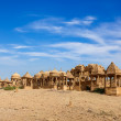 Stock Photo: Bada Bagh, Jaisalmer, Rajasthan, India