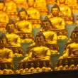 Buddha Sakyamuni statues — Stock Photo