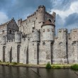 Gravensteen Castle in Ghent - Stock Photo