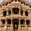 Stock Photo: Sasbahu temple in Gwalior fort
