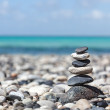 Zen balanced stones stack — Stock Photo #25476059